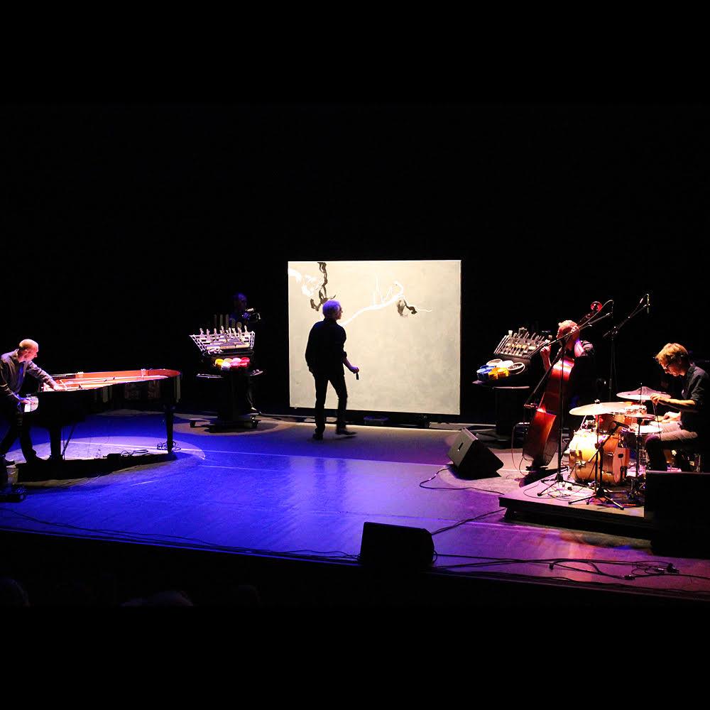 Concert de peinture avec le peintre Mathias Duhamel, piero iannetti et Frédéric Chopin jazz project, concerts de peinture